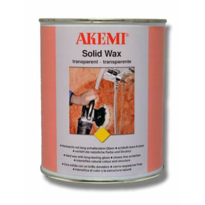 AKEMI Solid Wax polírpaszta 900ml transparent